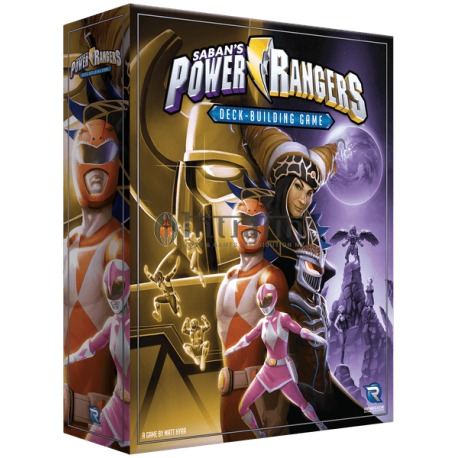 Power Rangers: Deck-Building Game -board game
