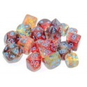 Nebula® Polyhedral Primary/turquoise Luminary 7-Die Set