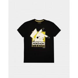 Pokémon - Embarrassed Pika - Men's Short Sleeved T-shirt - L