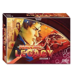 Pandemic Legacy season 1 Red edition