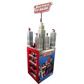 Justice League Figurine Display (64 pieces)