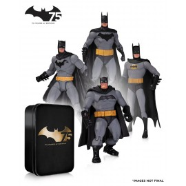 Batman - Action Figure 4-pack 75thAnniversary Set 2 17cm
