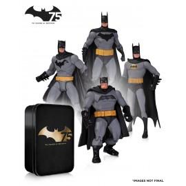 Batman - Action Figure 4-pack 75thAnniversary Set 2 17cm