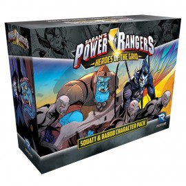 Power Rangers - Squatt & Baboo Character Pack card game