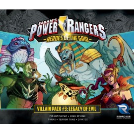 Power Rangers - Villain Pack 3 Legacy of Evil card game