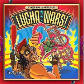 Lucha Wars - board game