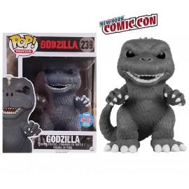 "Movies 239 POP - Godzilla - Godzilla (6"") Black & White EXC"