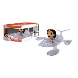Rides 16 POP - Wonder Woman an Invisible Jet