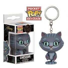POP Keychain - Disney - Alice Through - Chessur