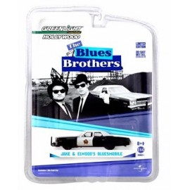 Blues brothers (1980) -1974 dodge monaco solid pack 1:64
