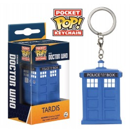 POP Keychain - Dr Who - Tardis