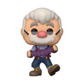 Disney:1028 Pinocchio -Geppetto w/ Accordion