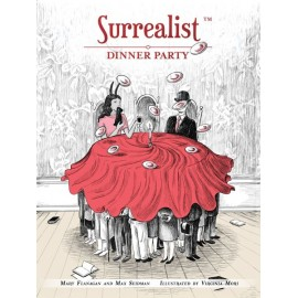 Surrealist Dinner Party-board game