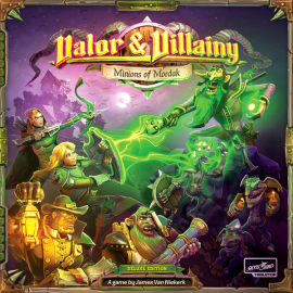 Valor & Villainy Minions of Mordak - Board game