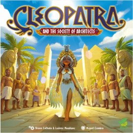 Cleopatra and the Society of Architects Deluxe- boardgame