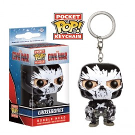 POP Keychain - Civil War - Crossbones