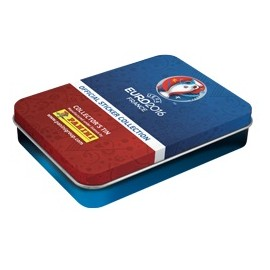 Euro 2016 Panini sticker Tinbox (5packs)
