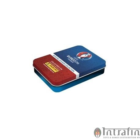 Euro 2016 Panini sticker Tinbox (5packs)