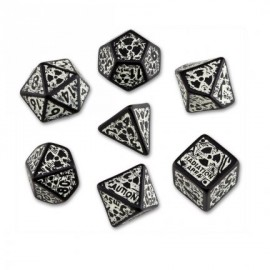 Nuke Dice Set Revised Black & Glowin the Dark (7)