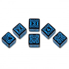 Shadowrun Spellcaster 6D6 Dice Set(6)