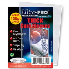 """Thick card sleeves 2,5 """"x3.50"""""""