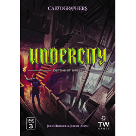 Cartographers Heroes Map Pack 3 - Undercity