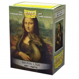 Dragon Shield Sleeves - Standard size - Matte Art: Mona Lisa