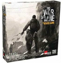 This War of Mine boardgame: Days of the Siege Expansion