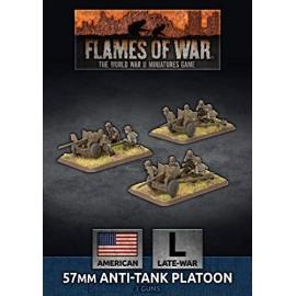 57mm Anti-Tank Platoon (x3 Plastic)