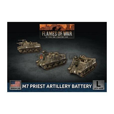 M7 Priest Artillery Battery (x3 Plastic)