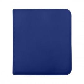 Pro Binder 12-Pocket zippered Bleu