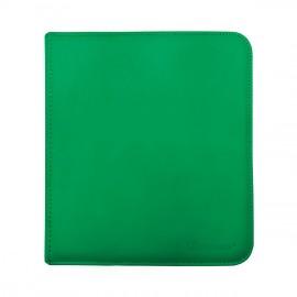 Pro Binder 12-Pocket zippered Green