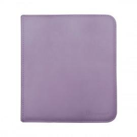 Pro Binder 12-Pocket zippered Purple
