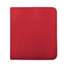 Pro Binder 12-Pocket zippered Red