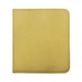 Pro Binder 12-Pocket zippered Yellow
