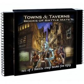 Books of Battle Mats: Towns & Taverns