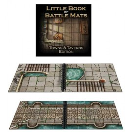 Little Book of Battle Mats: Towns & Taverns
