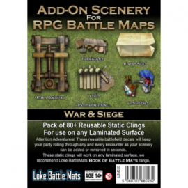 Add-on Scenery for Battle Maps: War & Seige