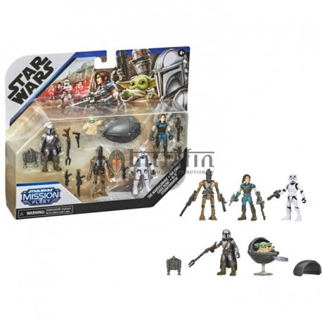 Star Wars Mission Fleet Mandalorian Multipack Figurines