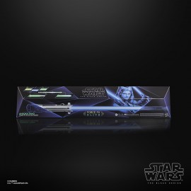 Star Wars The Black Series Ahsoka Tano Force FX Elite Lightsaber