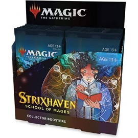 MTG Strixhaven Collector Booster (12) GER
