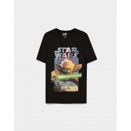 Star Wars - Yoda Poster - Men's Short Sleeved T-shirt - XL