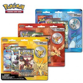 Pokémon Collector's Pin 3 pack