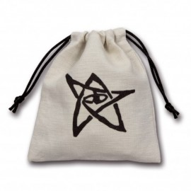 Call of Cthulhu White Dice Bag