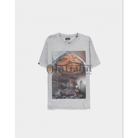 Star Wars - Jabba The Hutt - Men's Short Sleeved T-shirt - S