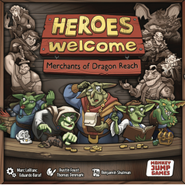 Heroes Welcome: Merchants of dragon Reach (boxed boardgame)