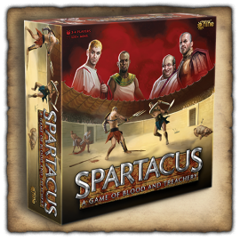 Spartacus Board Game (2021)
