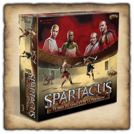 Spartacus Board Game (2021) - French Language