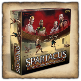 Spartacus Board Game (2021) - German Language
