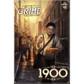 Chronicles of Crime: 1900 - board game